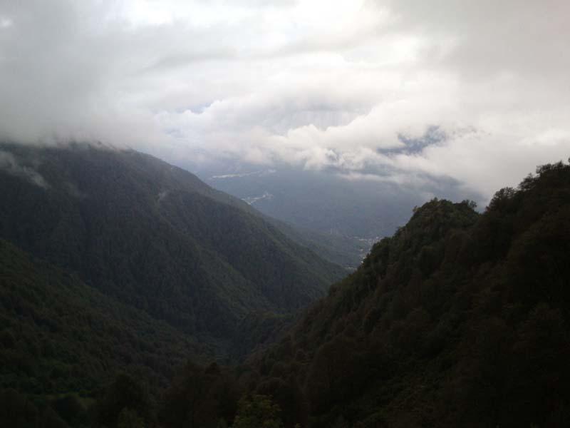 Вид с вершин Ачишхо