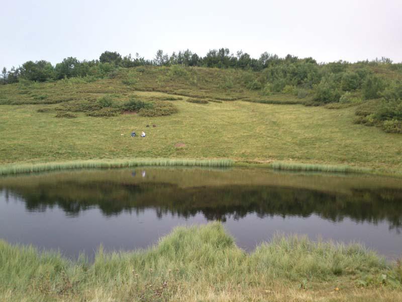 Озера на Ачишхо