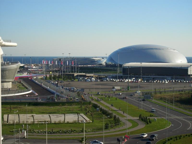 Олимпийские объекты Сочи