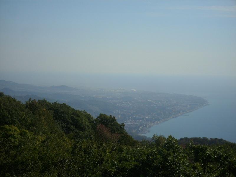 Вид с Башни Ахун
