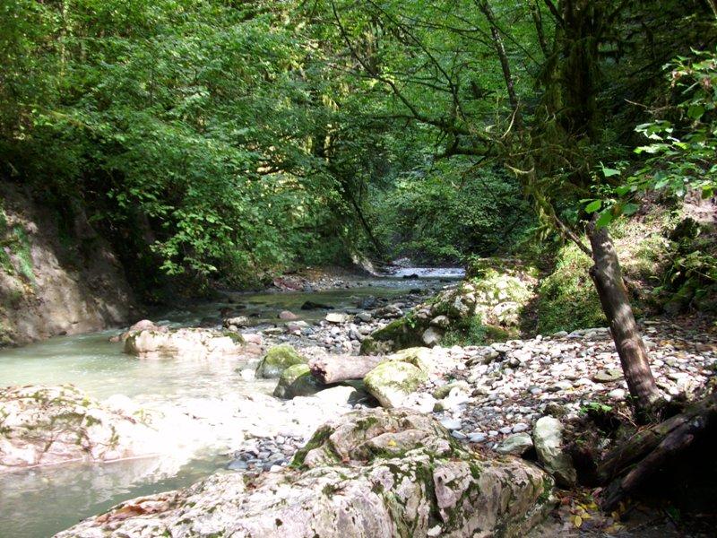 Долина реки Ажек