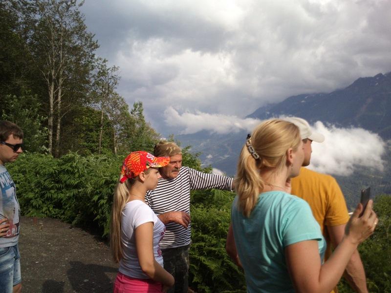 Джиппинг в горы Сочи