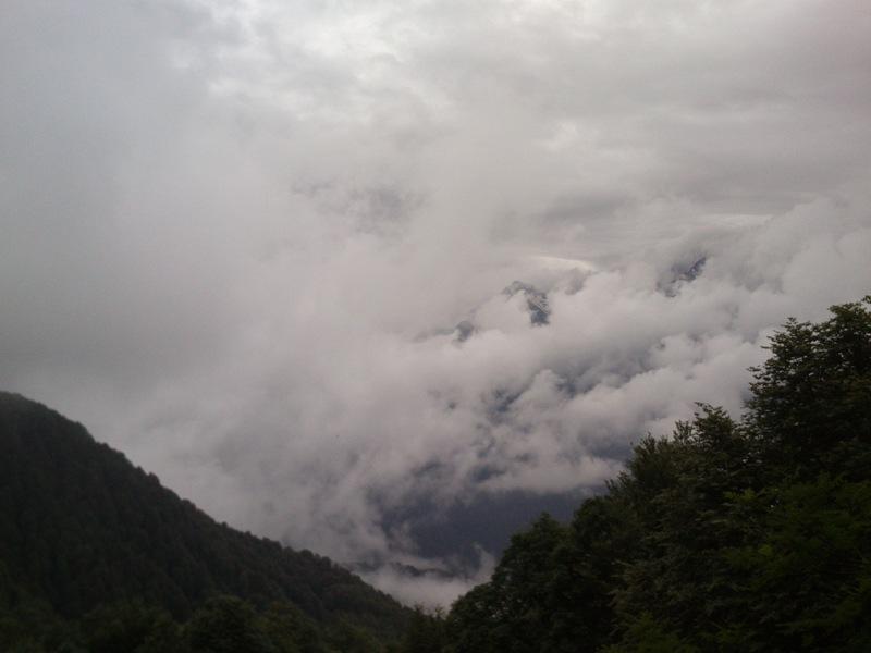 вид на гору Чугуш