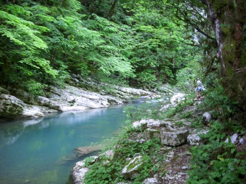 Ландшафт реки