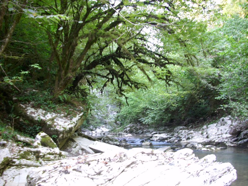 Поход по каньонам реки Хоста