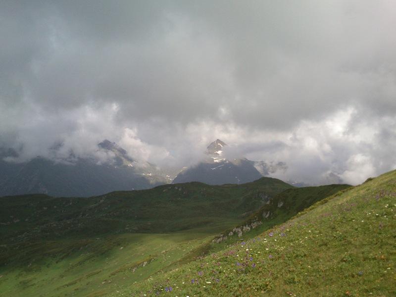 В горах заповедника