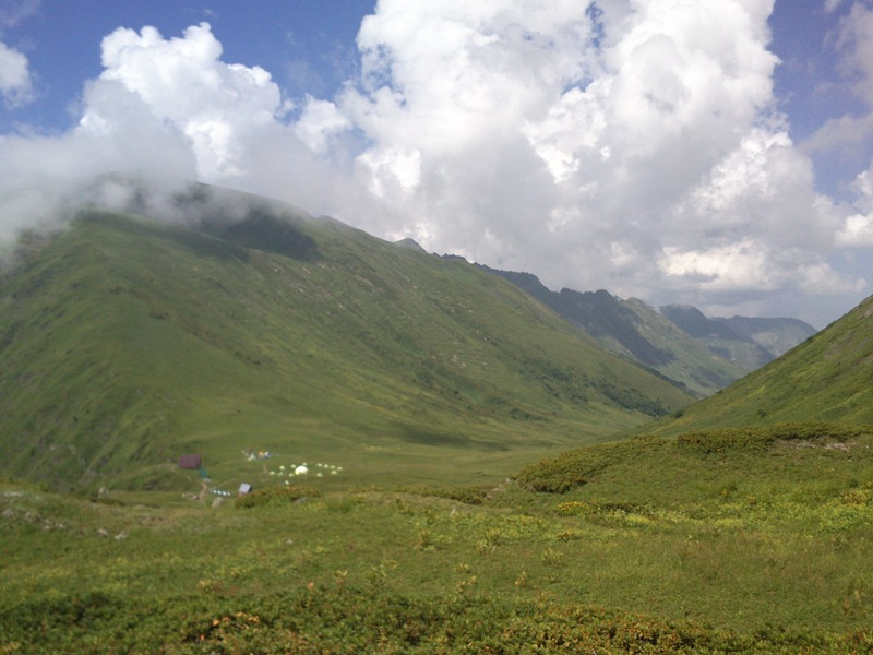 Горные перевалы Кавказа