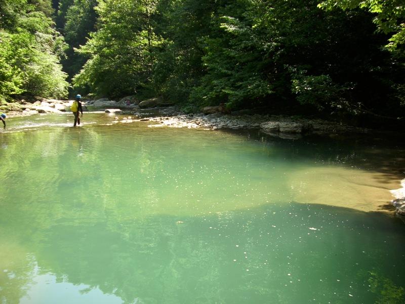 Поход по реке Хоста