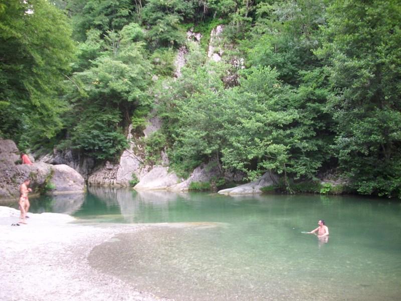 Отдых в Навалищенском каньоне