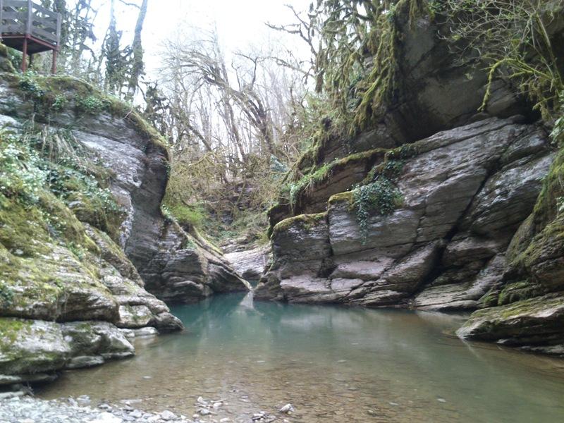 Поход каньоны Псахо