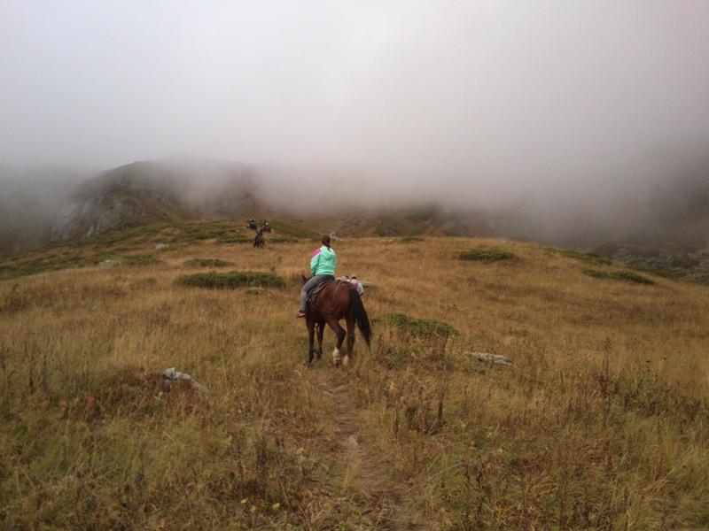 Конный выход в горы