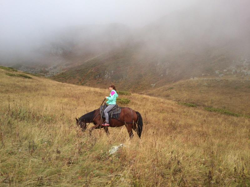 Конный поход в горах Сочи