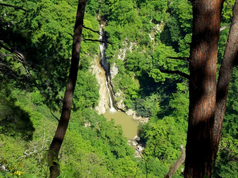 Водопады в Сочи