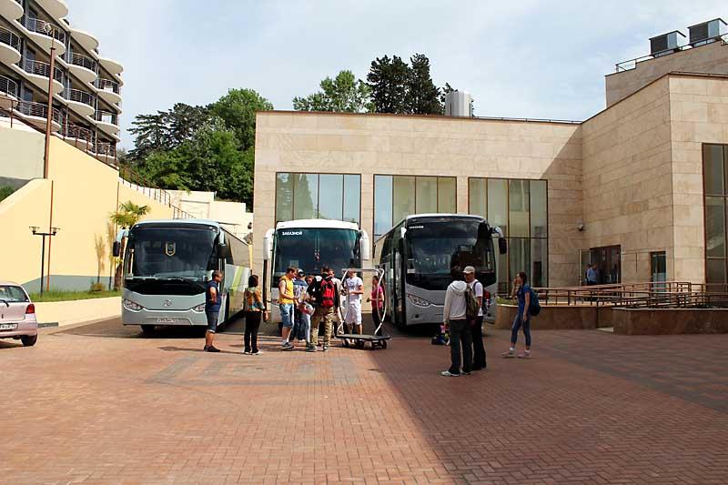 Организация экскурсий в Сочи