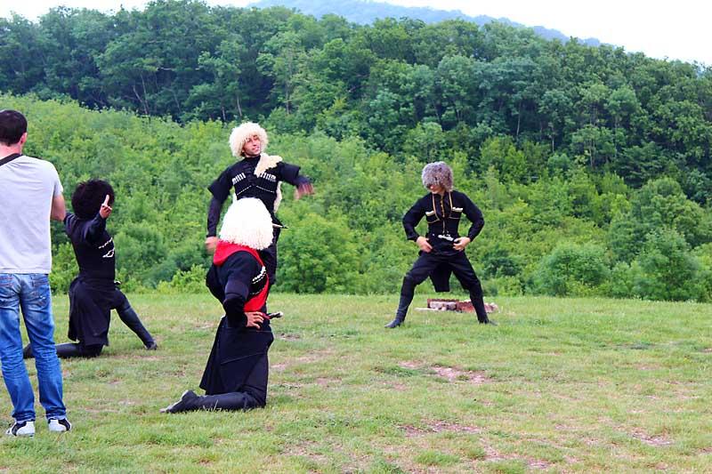 Экскурсии с Кавказскими танцами