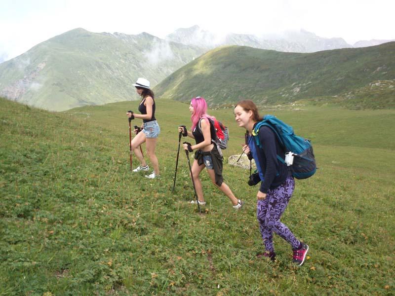 Восхождение в горы
