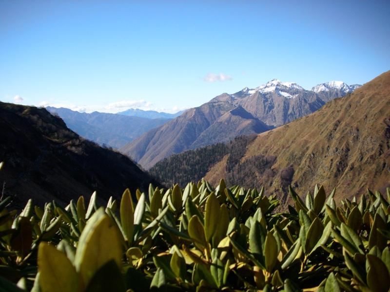 Поход в альпийской зоне