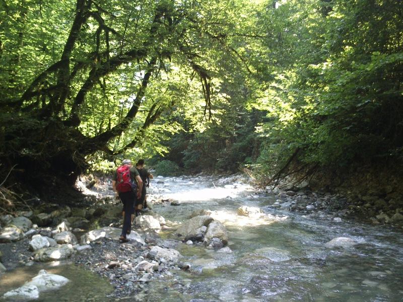 Реки Национального Парка Сочи