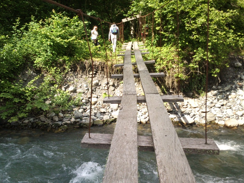 Переход Через реку Ачипсе