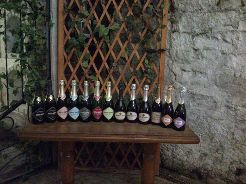 Игристые вина Абрау Дюрсо